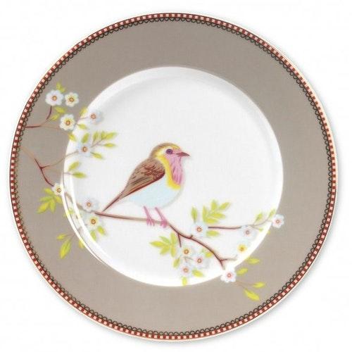 Tallrik Early Bird 21 cm beige-PIP STUDIO