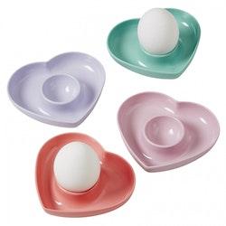 Äggkoppar enfärgad -RICE
