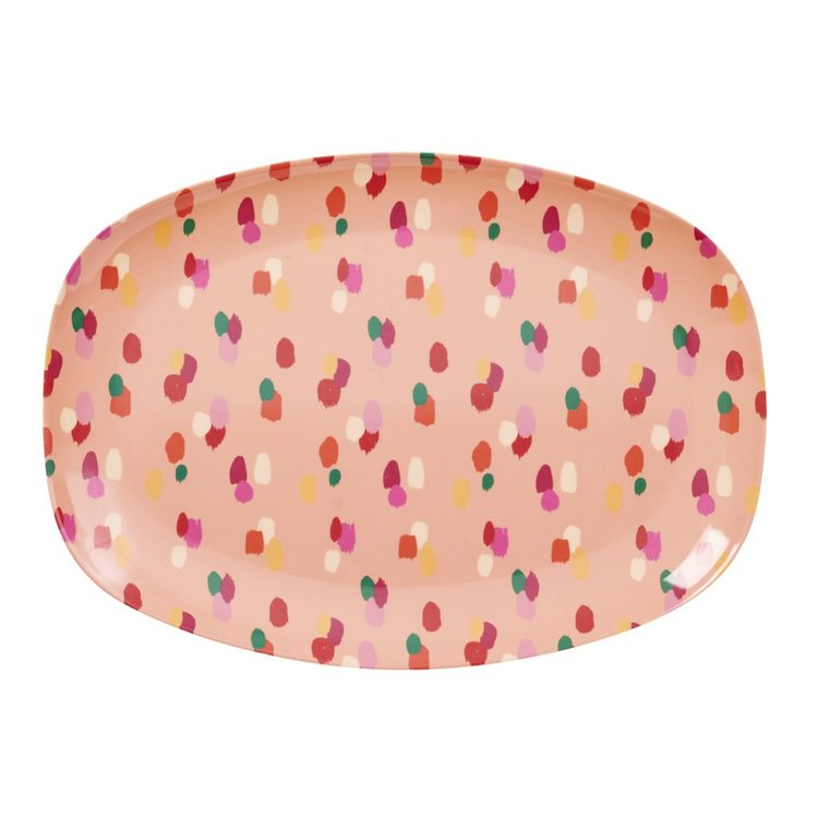 Tallrik Coral Dapper Dot-RICE