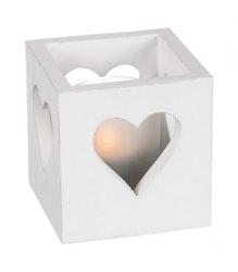 Ljuslykta hjärta-DIFFERENT DESIGN