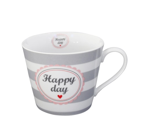 Mugg med öra Happy day-HAPPY