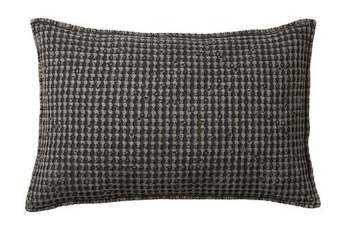 Kuddfodral RUT mörkgrå 40 x 60- AFFARI