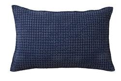 Kuddfodral blå Rut-AFFARI
