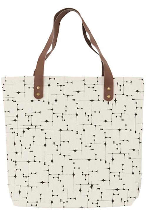 Väska grafiskt mönster-HOUSE DOCTOR
