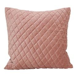 Kuddfodral sammet rosa-STRÖMSHAGA