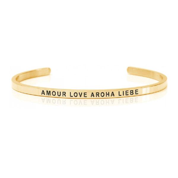 Armband gold Amour Love Aroha Liebe - DANIEL SWORD