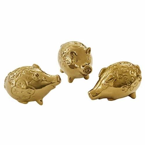 Kultingar 3-pack guld -CULT DESIGN