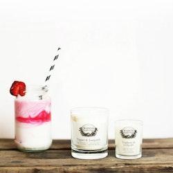 Doftljus jordgubbe & ros - KLINTA