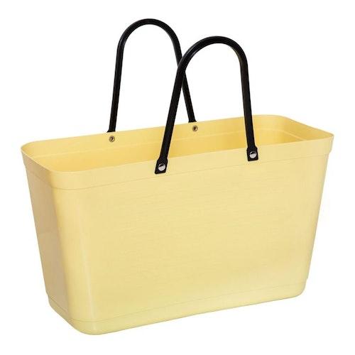 Väska stor citrongul HINZA -Green Plastic