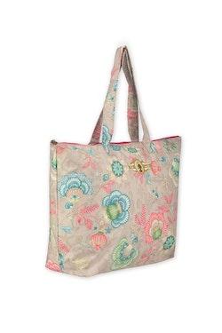 Väska Beachbag beige-PIP STUDIO