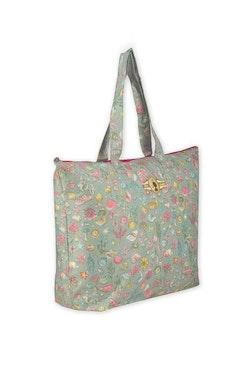 Väska Beachbag grön-PIP STUDIO