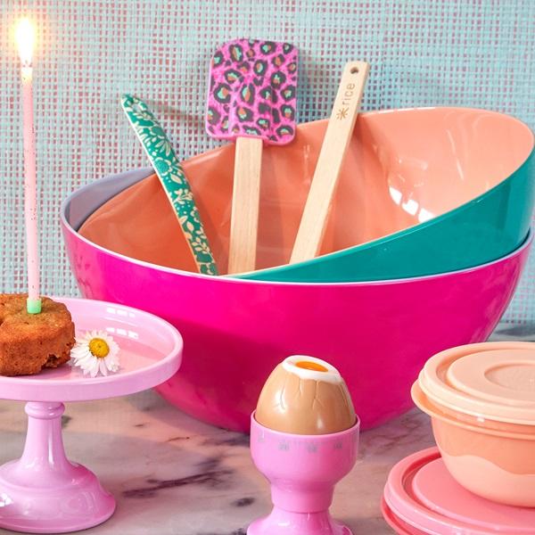 Äggklocka rosa-RICE