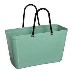Väska stor olivgrön HINZA -Green Plastic