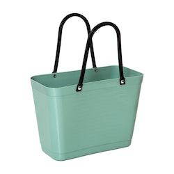 Väska liten olivgrön HINZA -Green Plastic