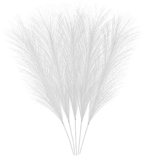 Påskfjädrar syntetiska vita - CULT DESIGN