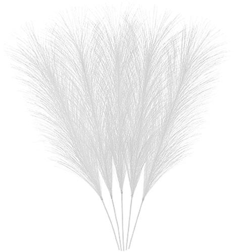 Påskfjädrar syntetiska vita