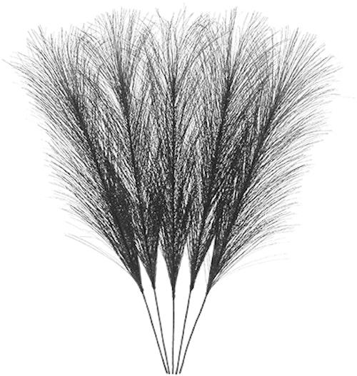 Påskfjädrar syntetiska svarta - CULT DESIGN