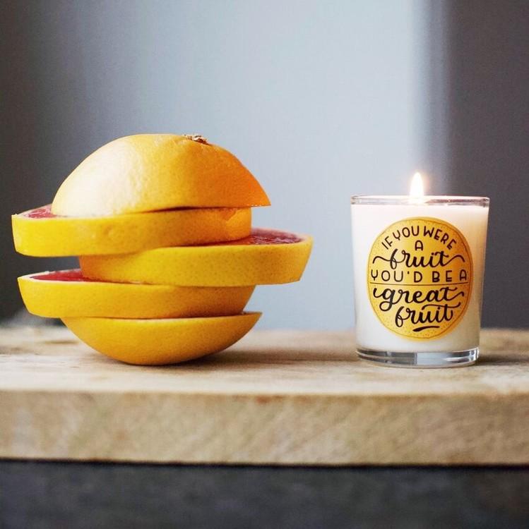 Doftljus Fruit från KLINTA