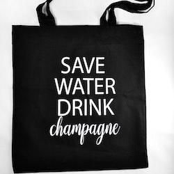 Tygkasse Save water-Mellow Design