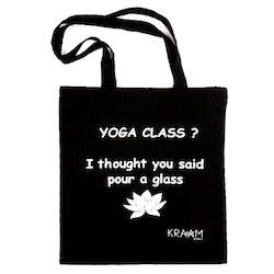Tygkasse Yoga-KRAAM