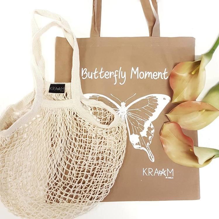 Tygkasse Butterfly-KRAAM