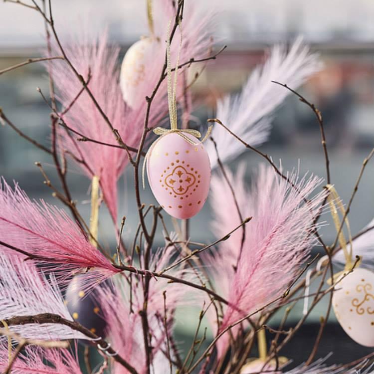 Påskägg Orient rosa-CULT DESIGN
