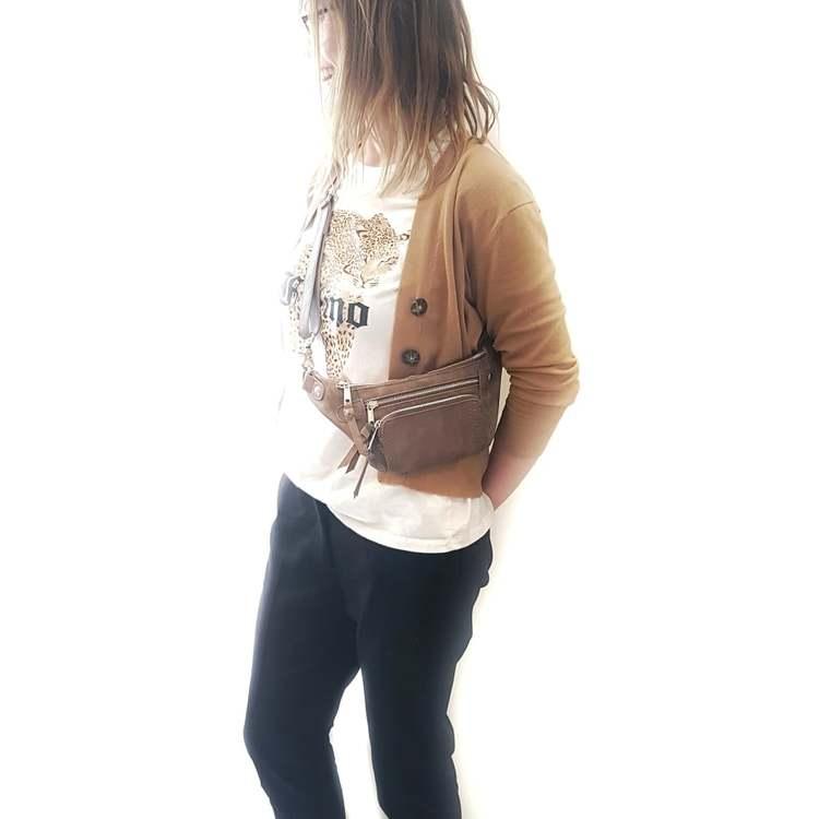Bum Bag brun - COMING COPENHAGEN
