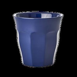 Mugg enfärgad blå-RICE