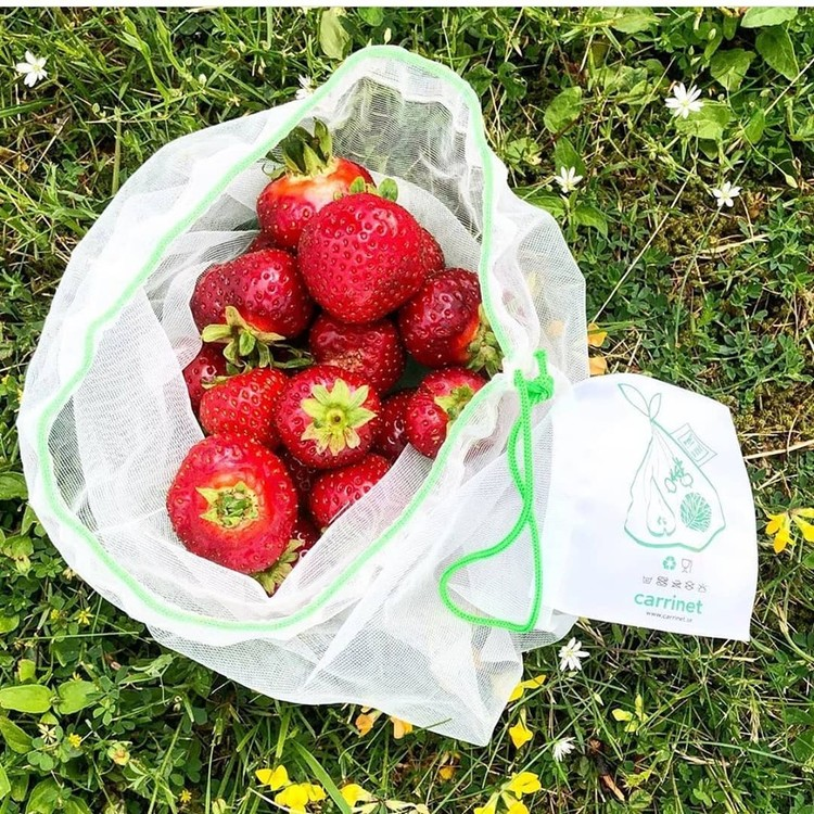 VEGGIO påsar till frukt och grönt 3-pack