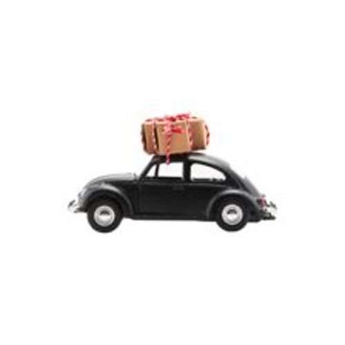 Xmas car svart mini-HOUSE DOCTOR