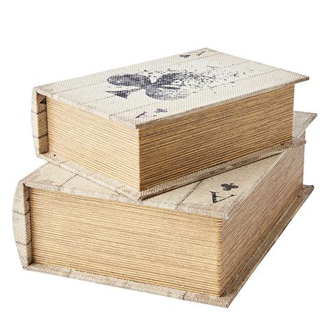 Boklådor Treklöver 2-pack