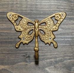 Krok Butterfly guld-CAROLINA GYNNING