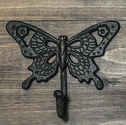 Krok Butterfly brunsvart-CAROLINA GYNNING