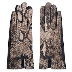 Handskar snake brun