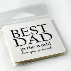 Magnet Best Dad-Mellow Design