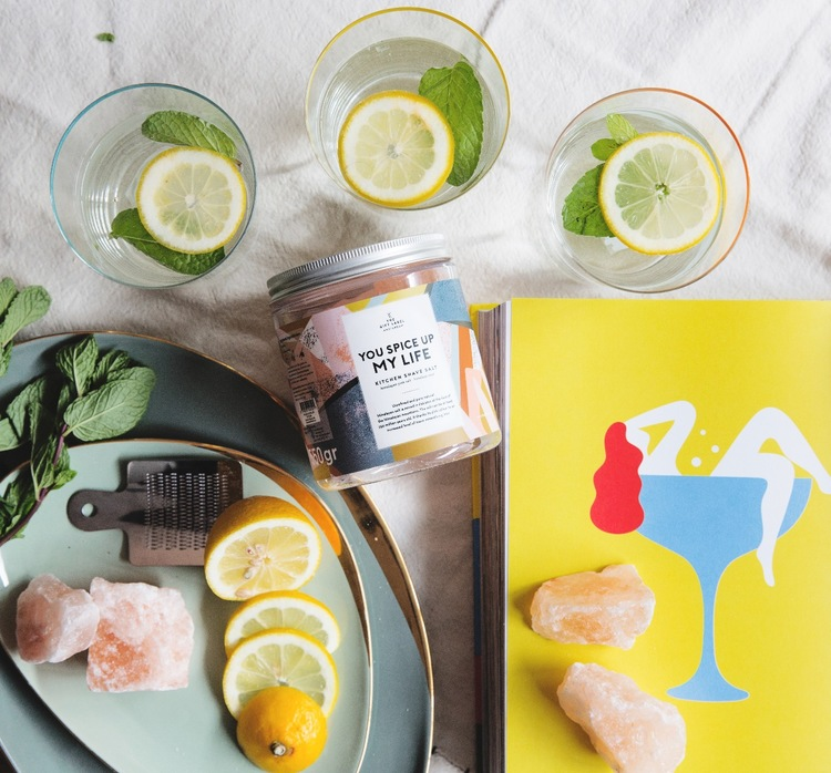 Rivsalt You spice up my life-THE GIFT LABEL