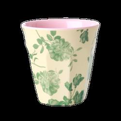 Mugg gröna rosor- RICE
