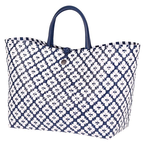 Väska Motif blå-HANDED BY