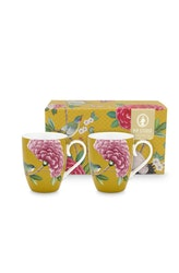 Mugg Blushing gul 2-pack -PIP STUDIO