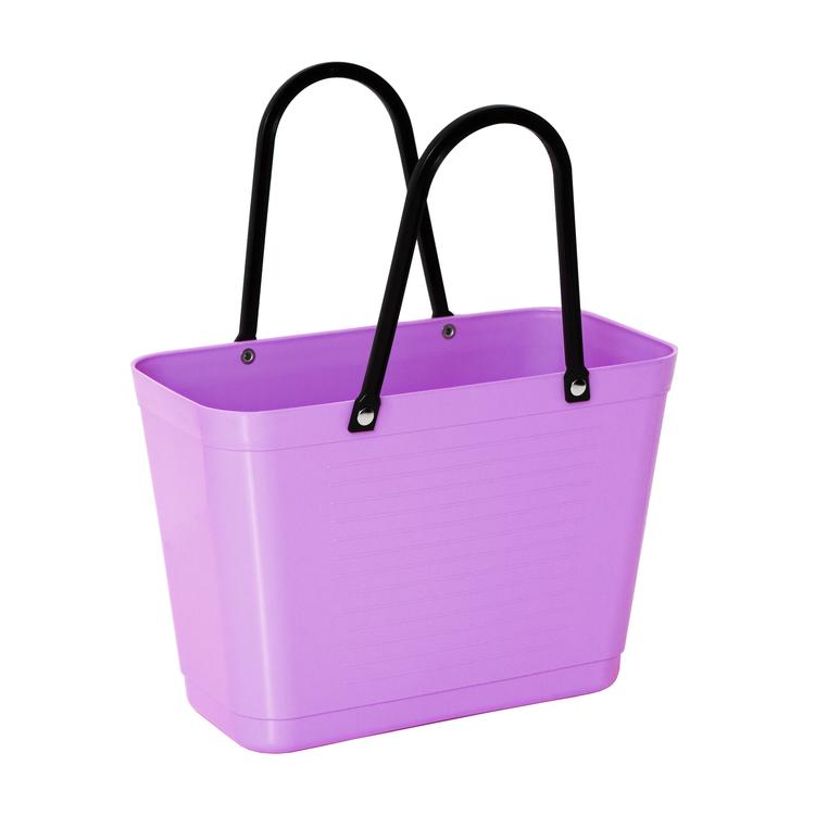 Hinza väska liten lila -green plastic