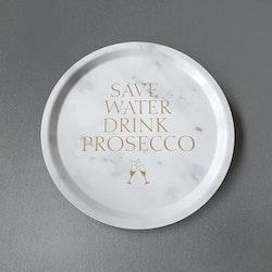 Bricka rund 31 Prosecco- MELLOW DESIGN