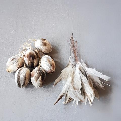 Påskpaket fjädrar sick-sack