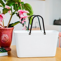 Hinza väska stor vit