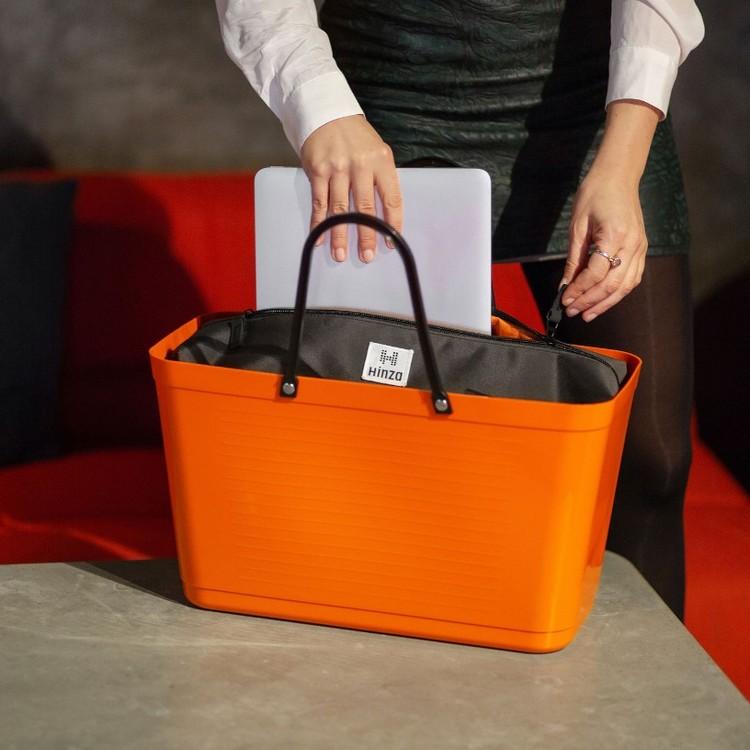 Hinza väska stor orange