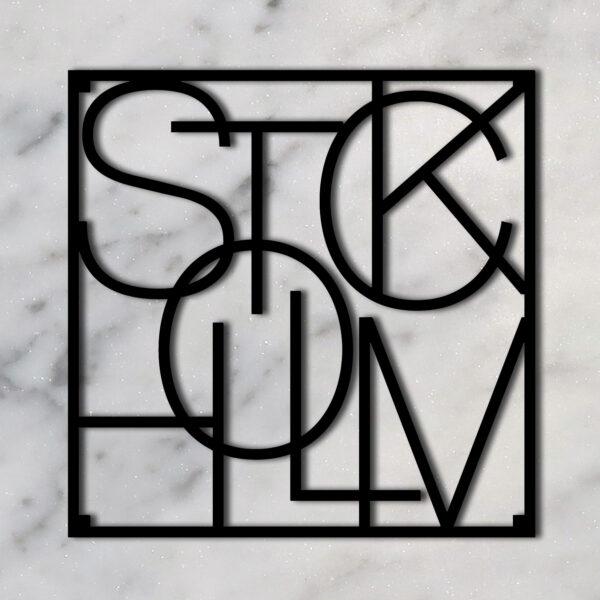 City trivet Stockholm-Men at Work