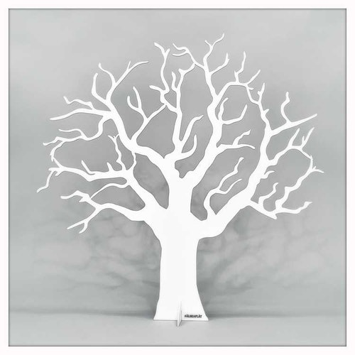 Ödeträd vit -ÄLSKAPLÅT