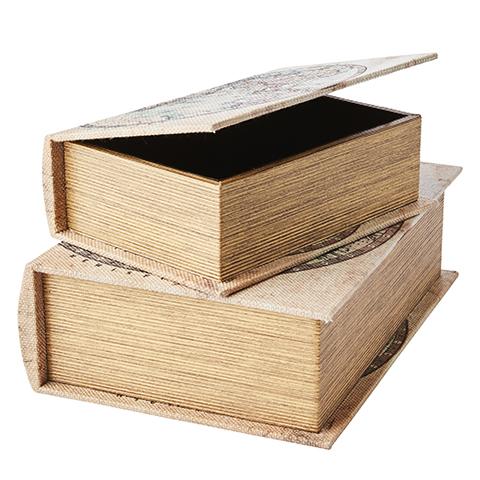 Boklådor Karta 2-pack