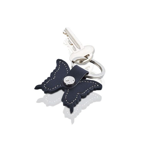 Nyckelring Butterfly svart-CAROLINA GYNNING