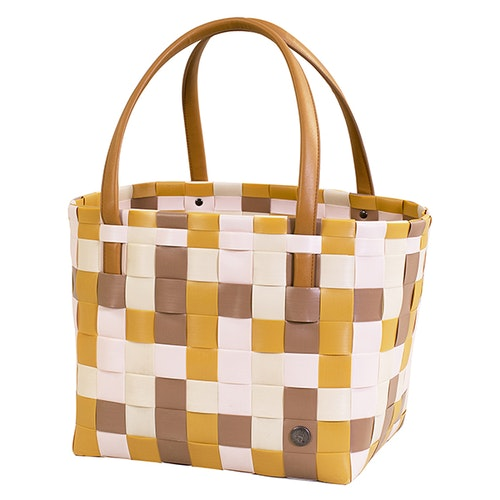 Väska Color Block honey mix-HANDED BY