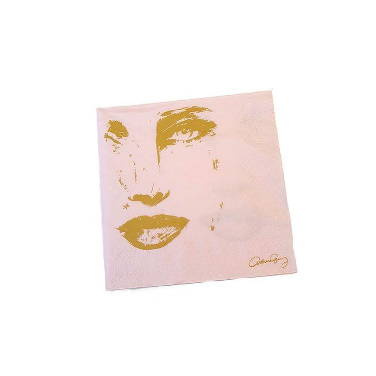 Servetter Piece of me rosa -CAROLINA GYNNING